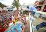 50 Cent Promotes Effen Vodka at Encore Beach Club