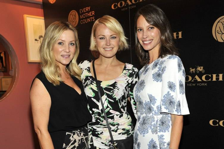 Every Mother Counts & COACH - 2015 LA MPower Luncheon Jessica Capshaw Gavigan Malin Akerman Christy Turlington Burns