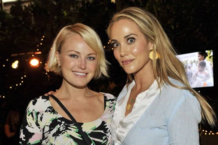 Malin Akerman and Elizabeth Berkley