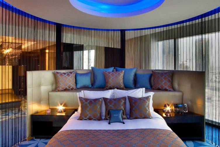 W Doha Hotel & Residences: Extreme Wow Suite Bedroom