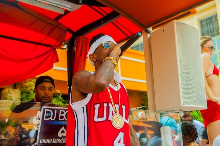 Fabolous performs at 2015 Season Grand Opening TAO Beach
