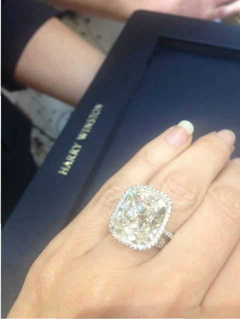 Harry Winston 10-carat diamond