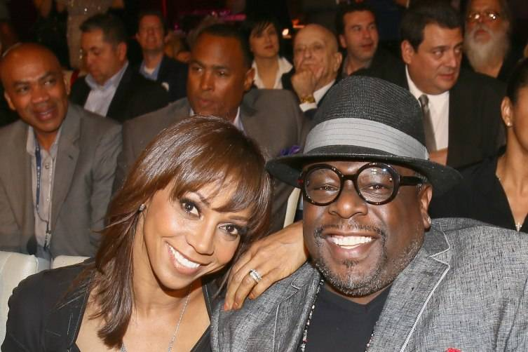Holly Robinson Peete and actor Cedric the Entertainer