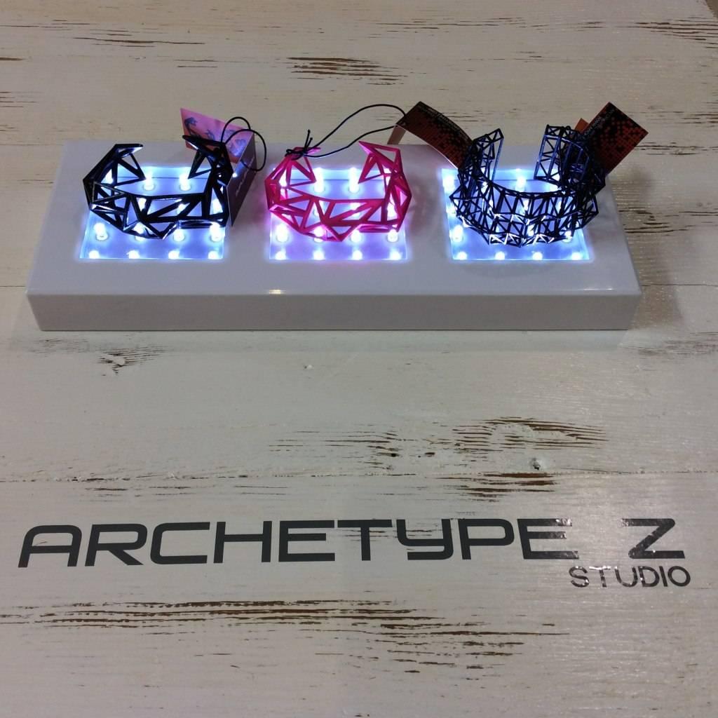 archetype z studio makerbot 3D printer wearable