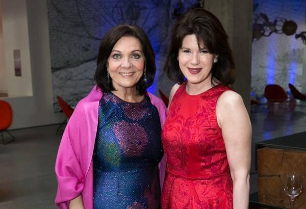 Pamela Culp and Elaine Mellis