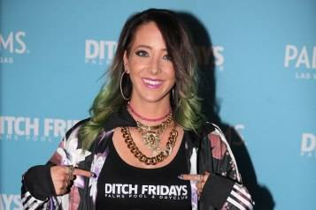 Jenna Marbles arrives to Ditch Fridays