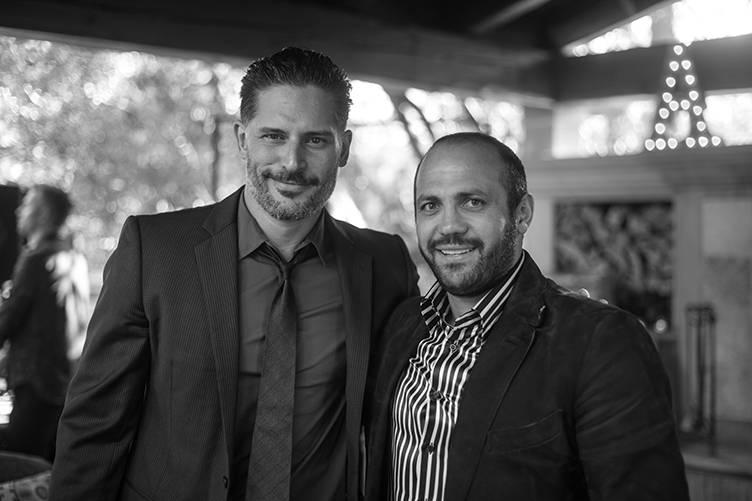 Joe Manganiello and Edgar Sargysian