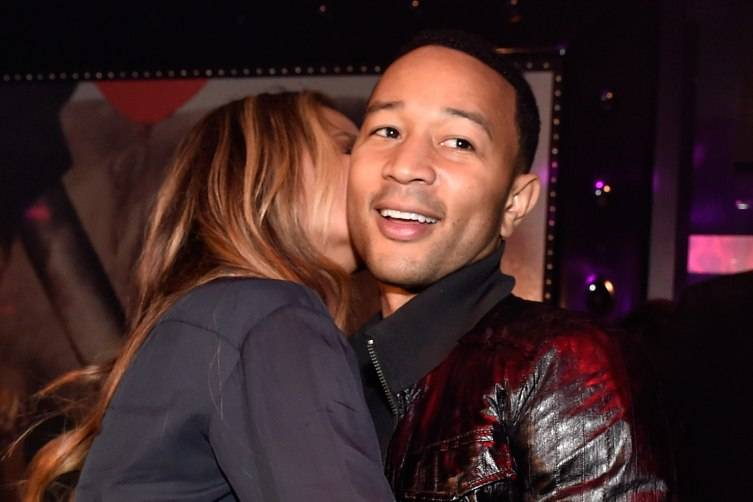 John Legend And Chrissy Teigen Host Pre-Billboard Award Celebration At 1 OAK Nightclub At The Mirage Las Vegas