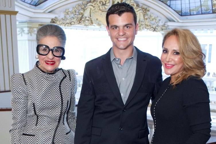 Joy Venturini Bianchi, Chandler Holmes, Brenda Zarate