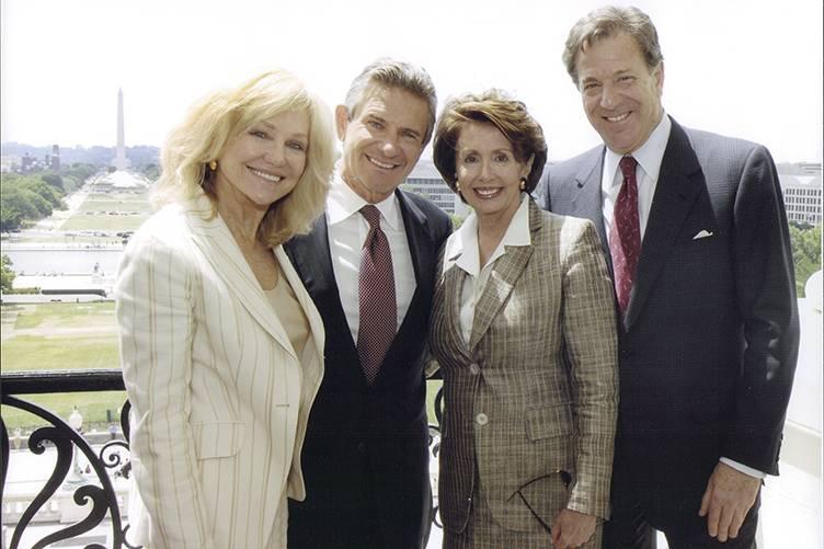 Kathryn Walt Hall, Craig Hall, Nancy Pelosi, Paul Pelosi