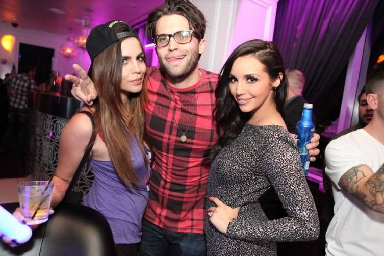 Katie Maloney, Tom Sandoval and Scheana Shay at Ghostbar_Joe Fury