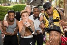 LAS VEGAS, NV - May 2: pictured as Justin Bieber hosts REHAB Pool party at Hard Rock Hotel & Casino in Las Vegas, NV on May 2, 2015. © Erik Kabik Photography/ Retna Ltd. ***HOUSE COVERAGE***