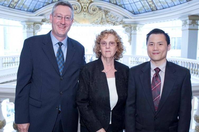 Mike McGrath, Jill Jacobs, Howard Chung
