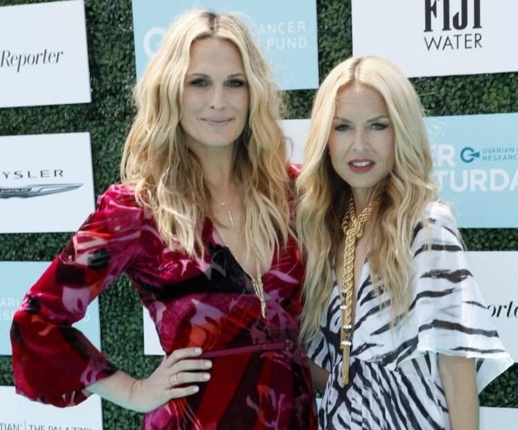Molly Sims and Rachel Zoe
