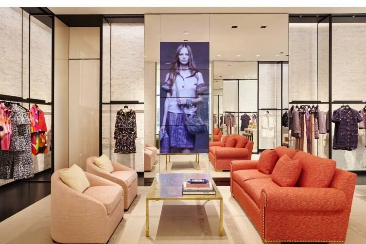 Peter Marino Designed Chanel Boutique