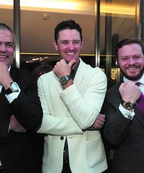 Hublot CEO Ricardo Guadalupe Debuts New SF Boutique with Justin Rose