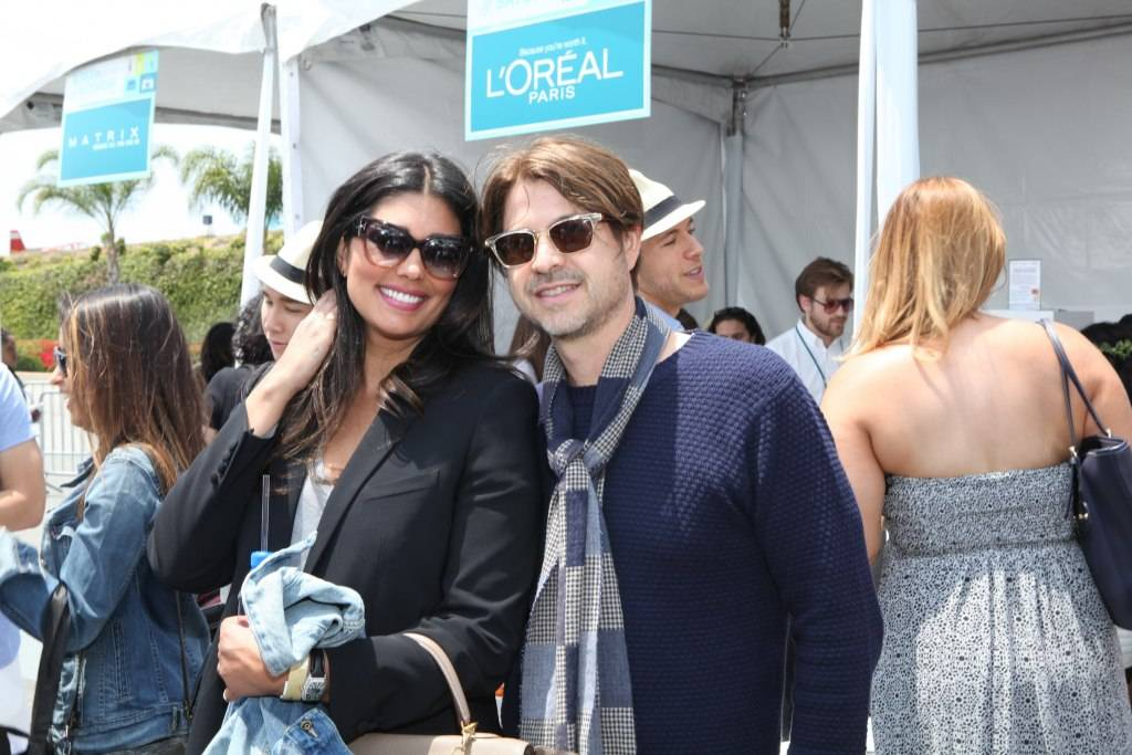 Rachel Roy and Rodger Berman
