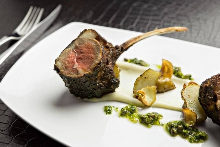 Rack of Lamb at STK
