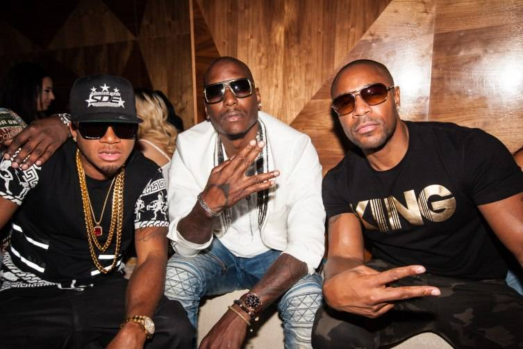 Red Cafe, Tank and Tyrese 2