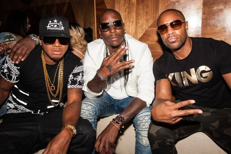 Red Cafe, Tank and Tyrese