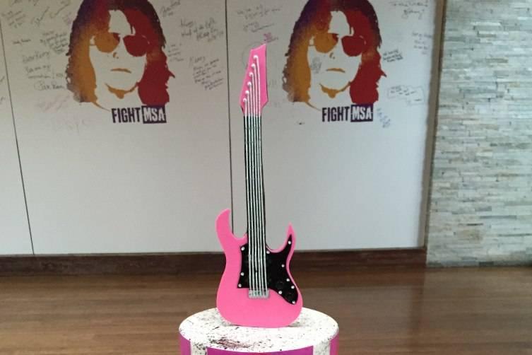 Rock Star Chef Kerry Simon's 60th Birthday Cake Credit Palms Casino Resort