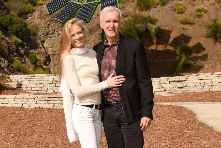 Suzy Amis Cameron and James Cameron