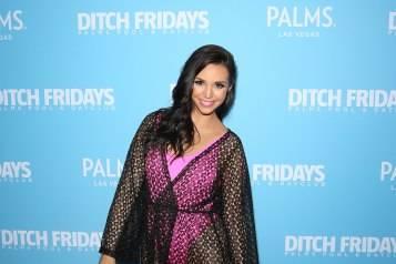 "Scheana Shay Celebrates Birthday With Fellow ""Vanderpump Rules"" Co-stars At Palms Pool & Dayclub In Las Vegas"