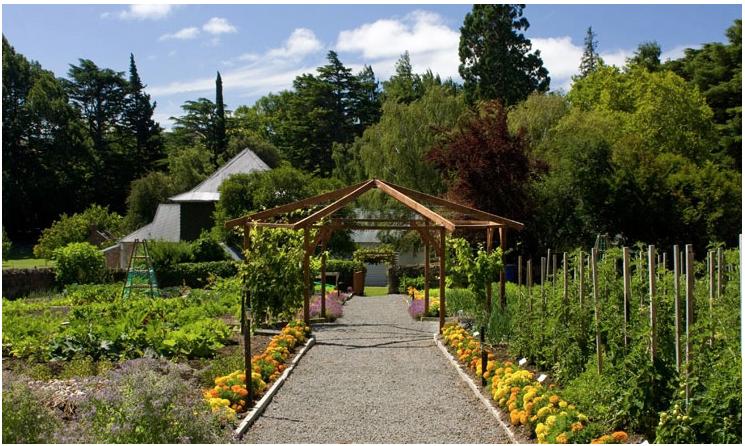 The Potager Garden.
