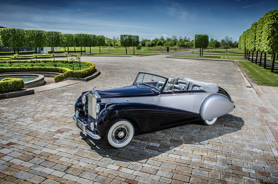 1952 Silver Dawn Rolls-Royce, the muse for the forthcoming Dawn.