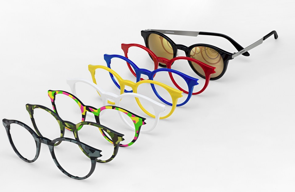 Eyeglass Frames Changeable Arms : Carrera Introduces Colorful Sunglasses with ...
