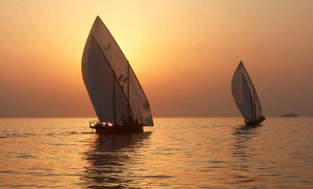 Gorgeous views await sailors and spectators alike as the Al Gaffal Dhow Race sets sail on May 23, 2015 in Dubai.