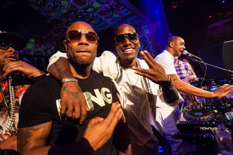 Tank and Tyrese