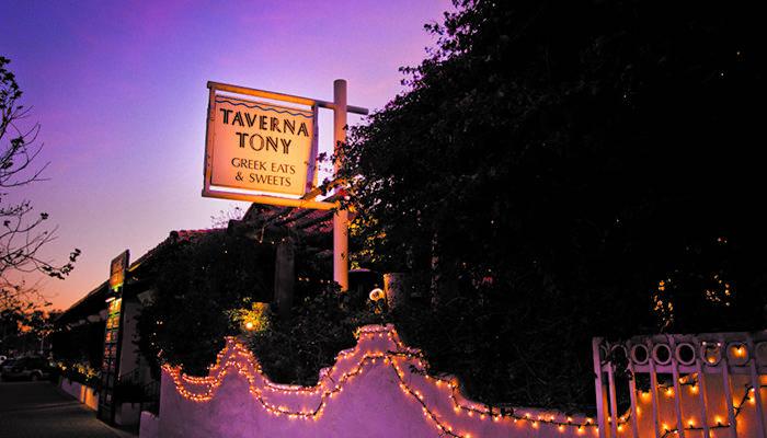 Taverna Tony, Image via Malibu County Mart