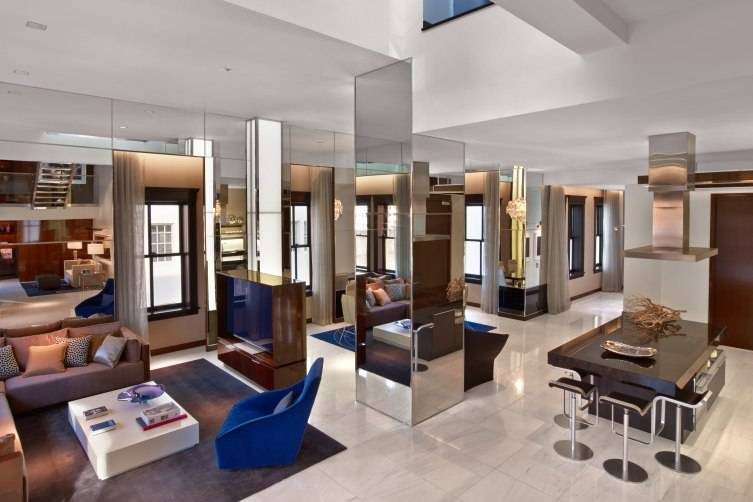 A Penthouse Suite at The Joule Dallas