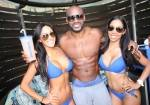 Tyson Beckford arrives at Ditch Fridays season opener at Palms Pool & Dayclub in Las Vegas.