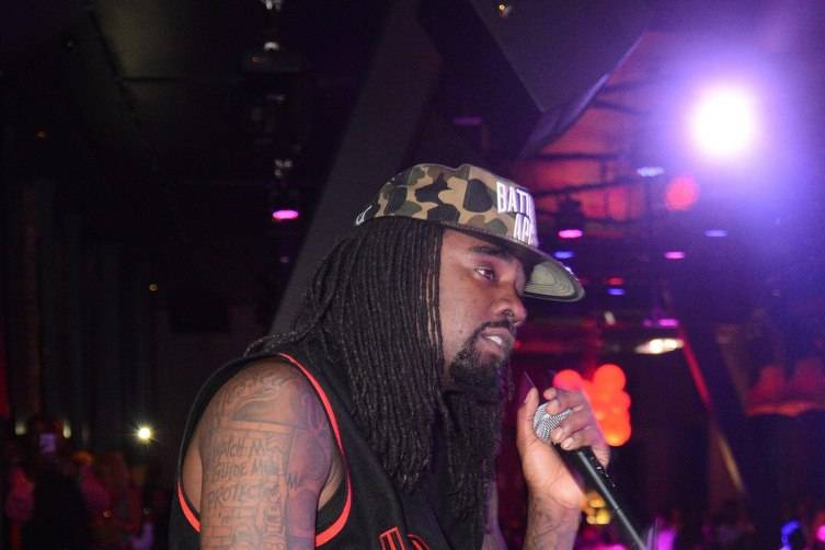 Wale Performing at Chateau Nightclub