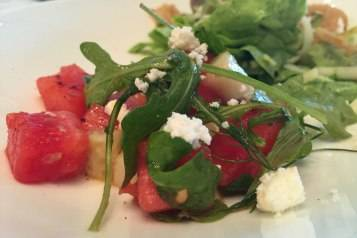 Watermelon Greek salad 2