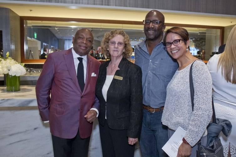 Willie Brown, Jill Jacobs, Ferrare LeBlanc, Linda LeBlanc
