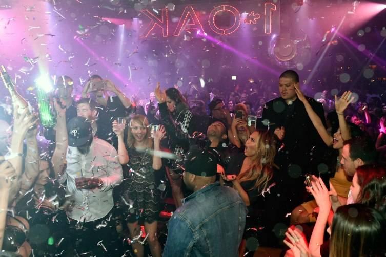 John Legend And Chrissy Teigen Host Pre-Billboard Award Celebration At 1 OAK Nightclub At The Mirage Las Vegas