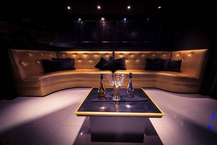 One of the VIP areas at Gatsby.
