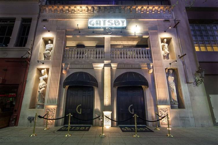 "Spend an evening surrounded by all the glitz, glamour, and decadence you'd expect from a nightclub named ""Gatsby"""