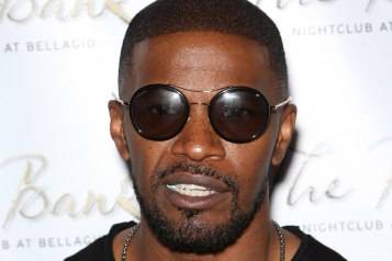Jamie Foxx Performs at Bank Nightclub at Bellagio Resort & Casino for Las Vegas Fight Weekend