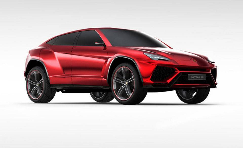 The Lamborghini Urus concept SUV was presented at the Beijing auto show in 2012. (Courtesy image/Lamborghini)