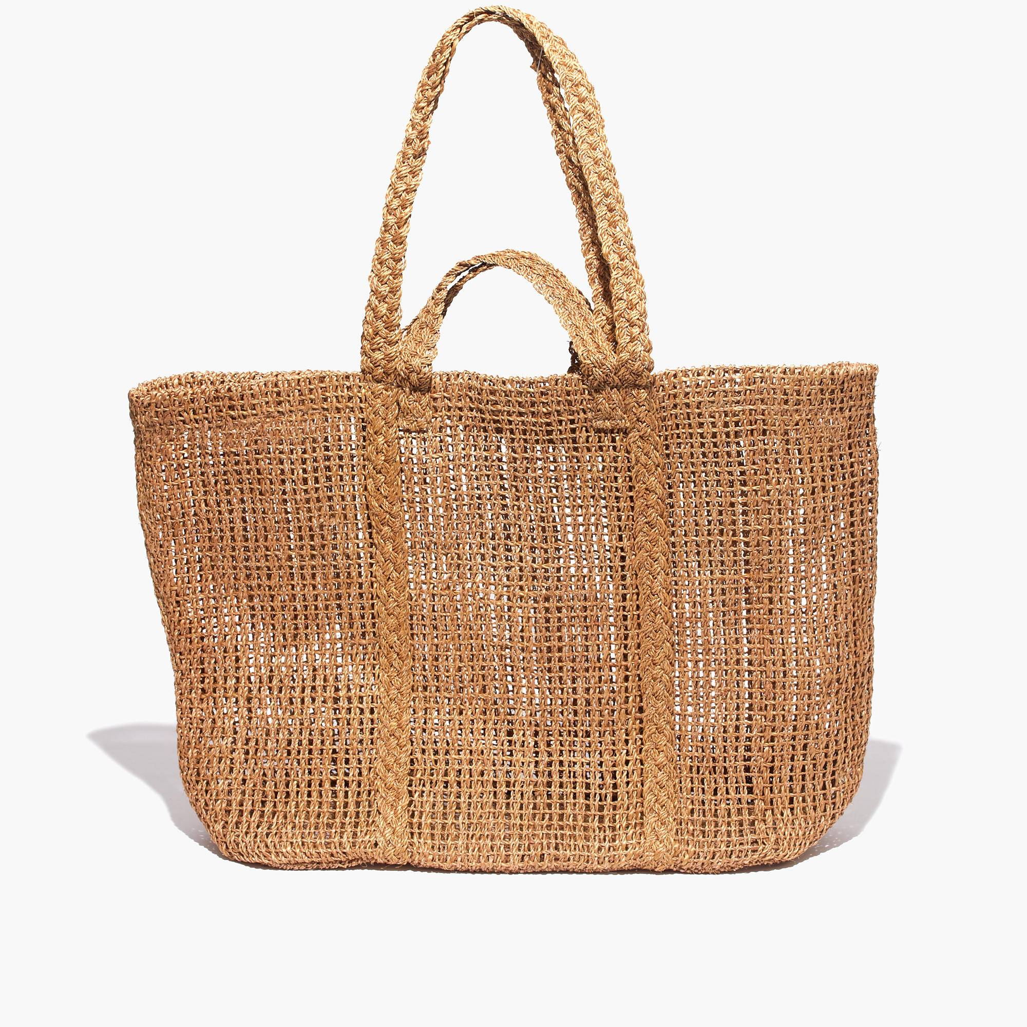 Madewell Corsica Straw Beach Tote 59 50