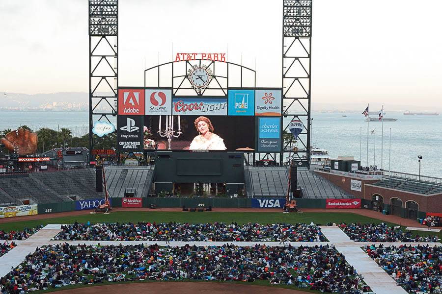Opera at the Ballpark