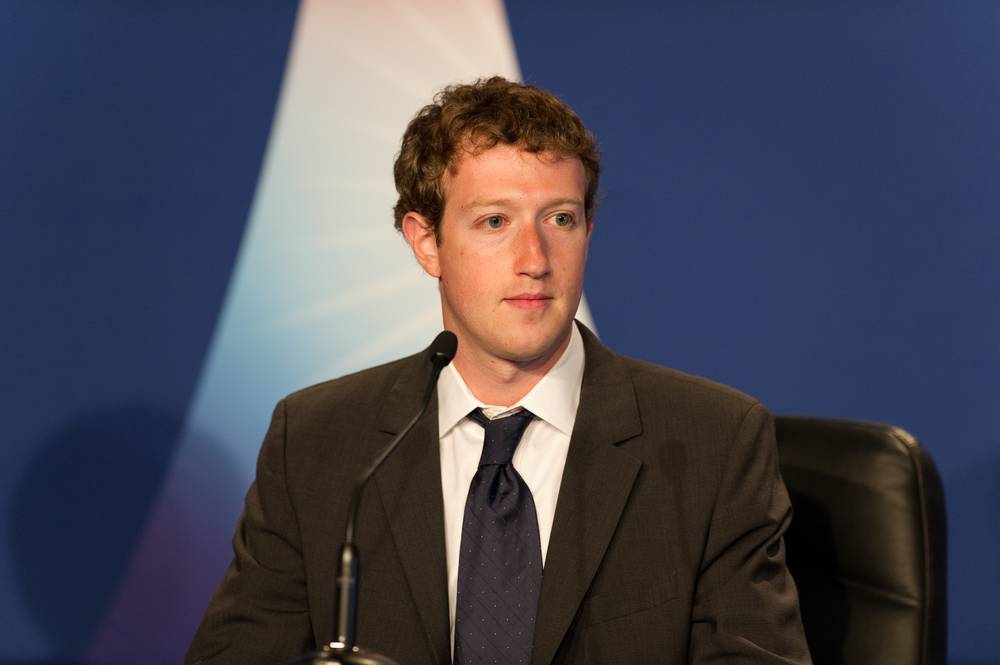 Mark Zuckerberg, photo by Frederic Legrand - COMEO