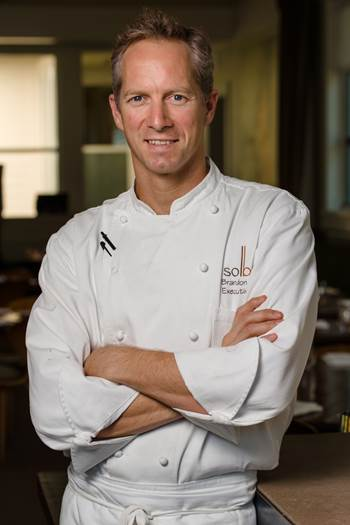 Solbar Executive Chef Brandon Sharp, Vice President of Culinary Operations for Solage Hotels & Resorts