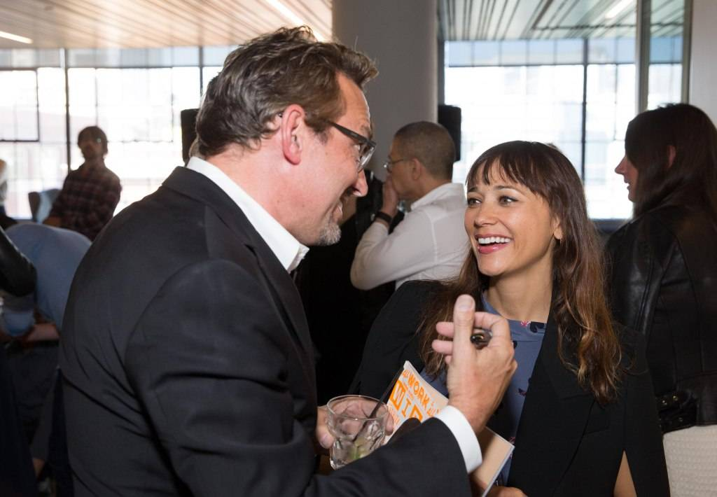 Art Streiber and Rashida Jones
