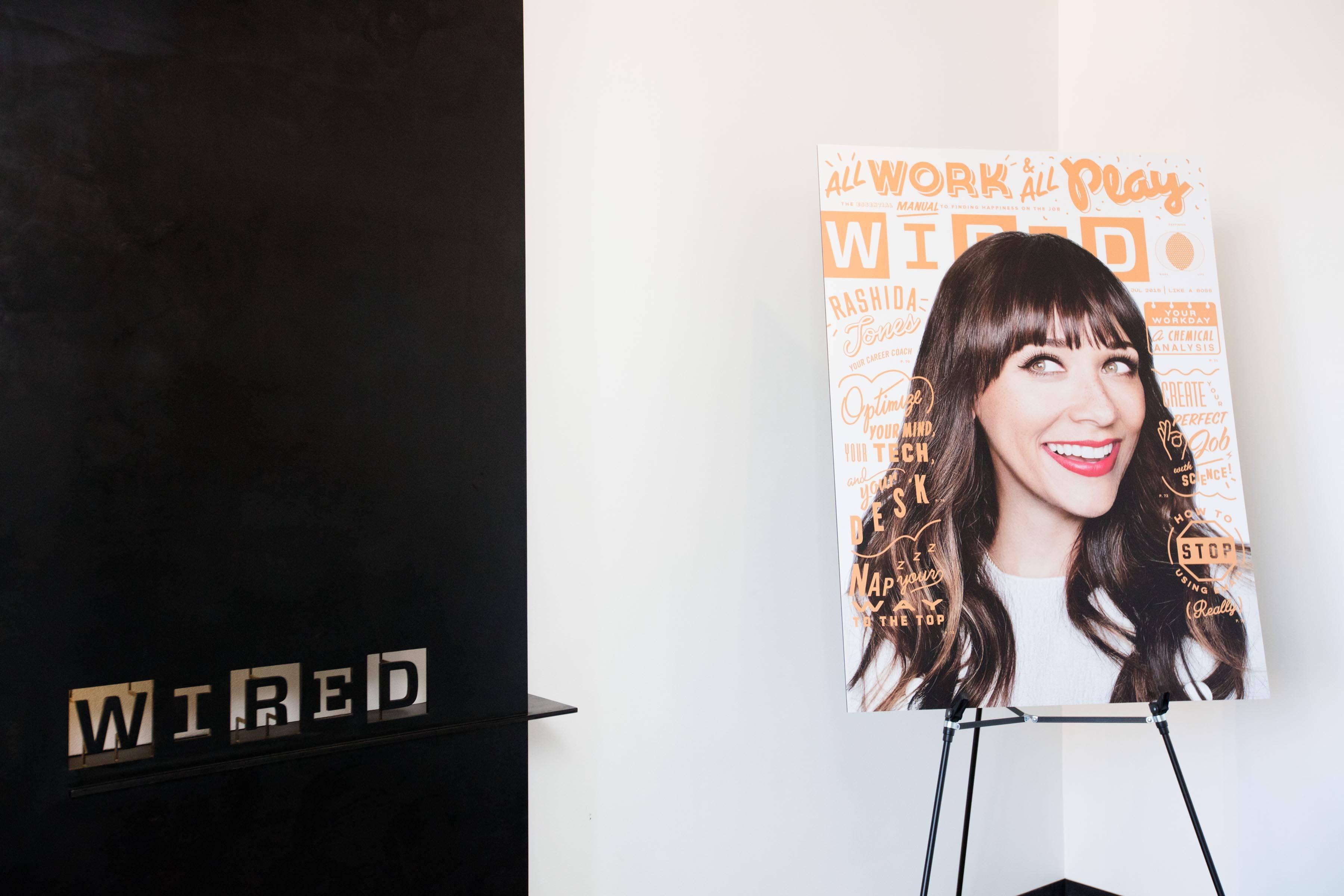 WIRED Cover Girl Rashida Jones Parties In San Francisco