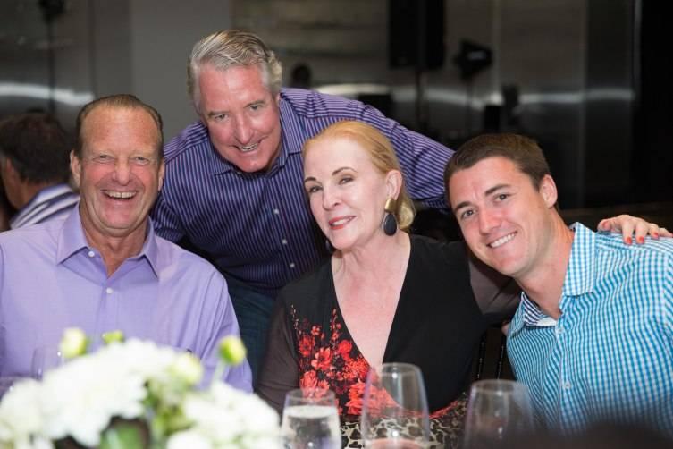 Doug Lockie, John Miller, Sally Pera, Brad Lehman